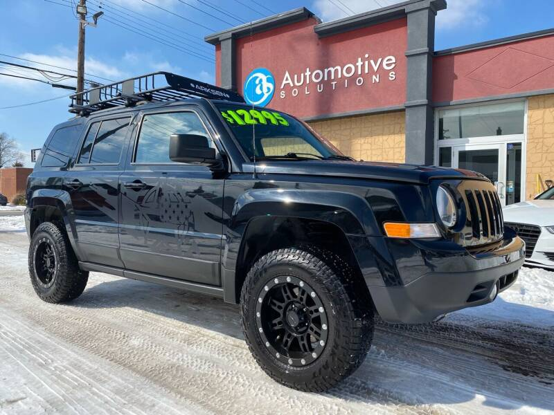 2016 Jeep Patriot for sale at Automotive Solutions in Louisville KY