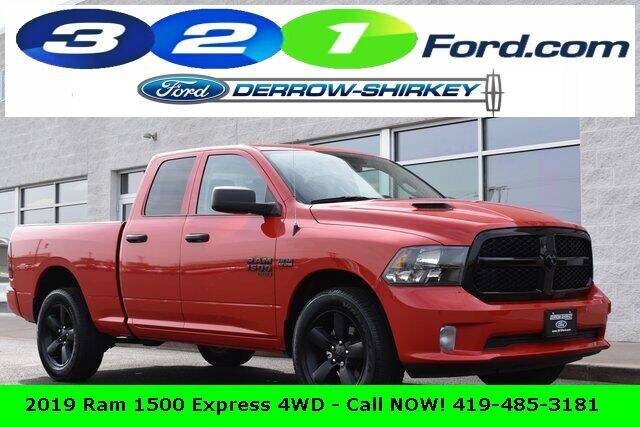 2019 RAM Ram Pickup 1500 Classic for sale in Montpelier, OH