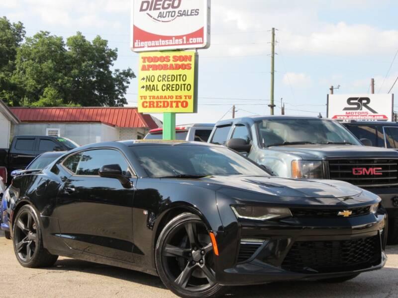2016 Chevrolet Camaro for sale at Diego Auto Sales #1 in Gainesville GA