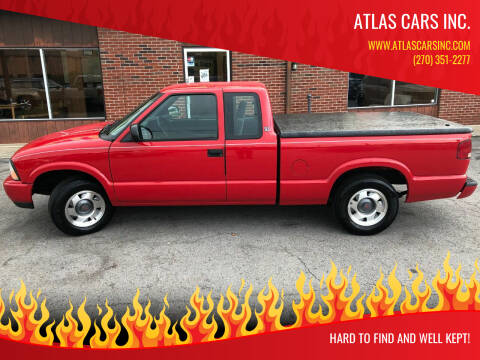 2001 GMC Sonoma for sale at Atlas Cars Inc. in Radcliff KY