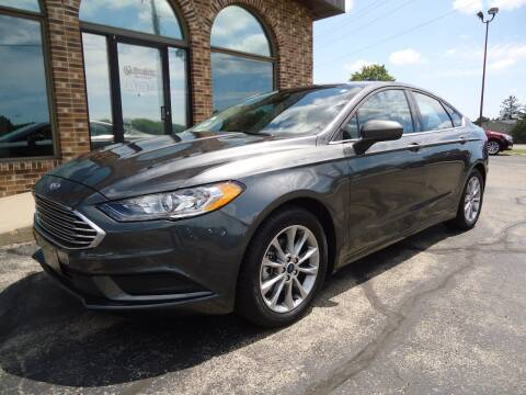 2017 Ford Fusion for sale at VON GLAHN AUTO SALES in Platteville WI