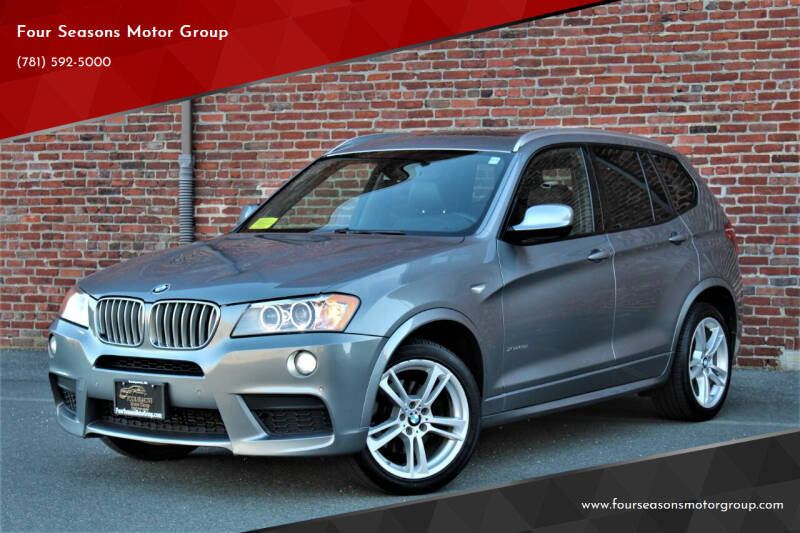 2013 BMW X3 for sale at Four Seasons Motor Group in Swampscott MA