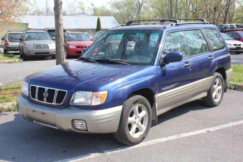 2001 Subaru Forester for sale at Auto Bahn Motors in Winchester VA