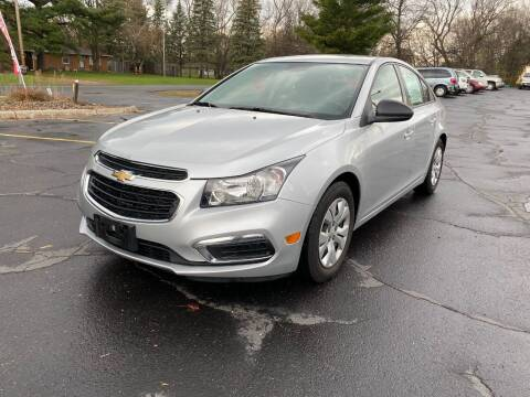 2016 Chevrolet Cruze Limited for sale at Northstar Auto Sales LLC in Ham Lake MN
