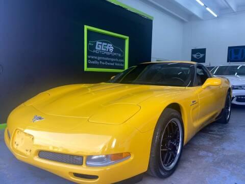 2003 Chevrolet Corvette for sale at GCR MOTORSPORTS in Hollywood FL