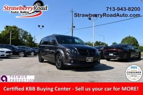 2017 Dodge Grand Caravan for sale at Strawberry Road Auto Sales in Pasadena TX