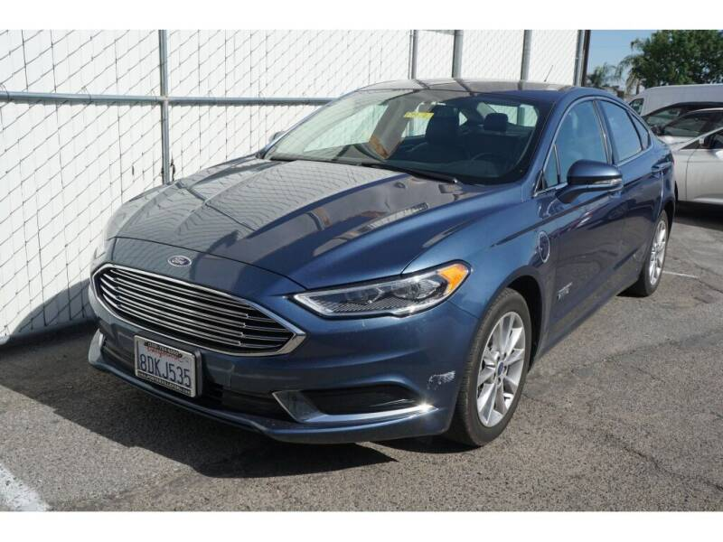 2018 Ford Fusion Energi for sale in Porterville, CA
