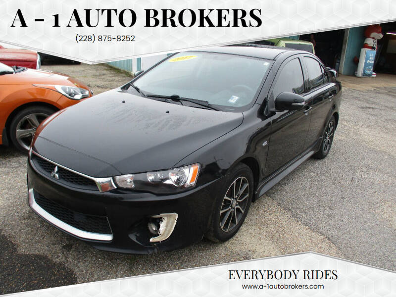 2017 Mitsubishi Lancer for sale at A - 1 Auto Brokers in Ocean Springs MS
