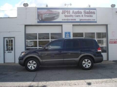 2009 Kia Borrego for sale at JPH Auto Sales in Eastlake OH