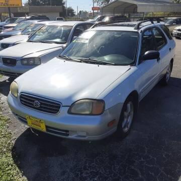 2001 Suzuki Esteem for sale at Easy Credit Auto Sales in Cocoa FL