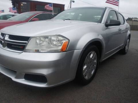 2012 Dodge Avenger for sale at Auto Credit Xpress - Sherwood in Sherwood AR