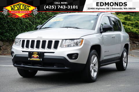 2011 Jeep Compass for sale at West Coast Auto Works in Edmonds WA