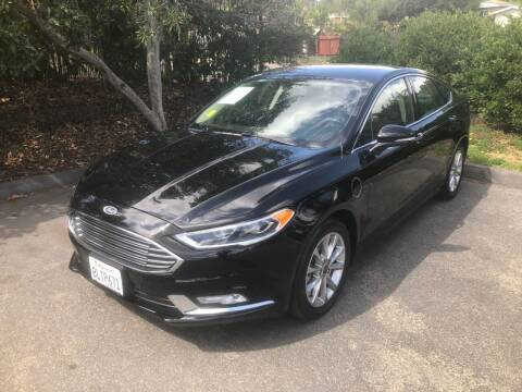 2017 Ford Fusion Energi for sale at North Coast Auto Group in Fallbrook CA