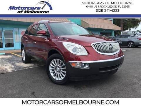 2009 Buick Enclave for sale at Motorcars of Melbourne in Rockledge FL