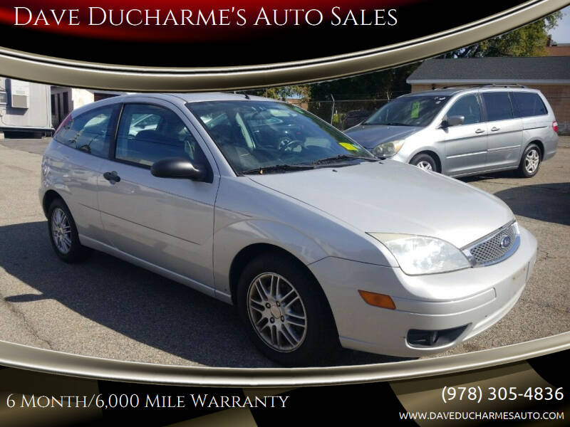 2005 Ford Focus for sale at Dave Ducharme's Auto Sales in Lowell MA