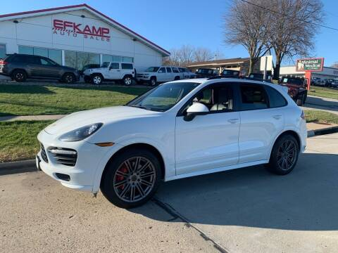 2014 Porsche Cayenne for sale at Efkamp Auto Sales LLC in Des Moines IA
