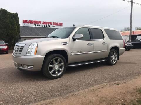 2007 Cadillac Escalade ESV for sale at BLAESER AUTO LLC in Chippewa Falls WI