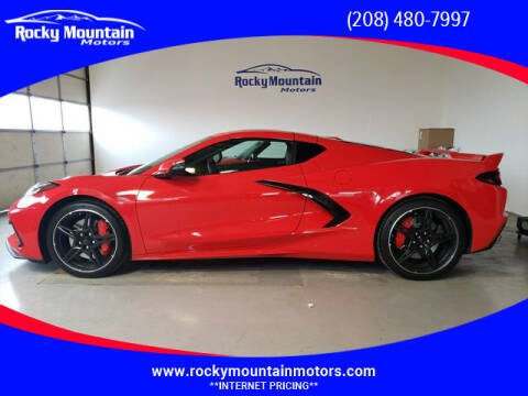 2020 Chevrolet Corvette for sale at Rocky Mountain Motors in Idaho Falls ID