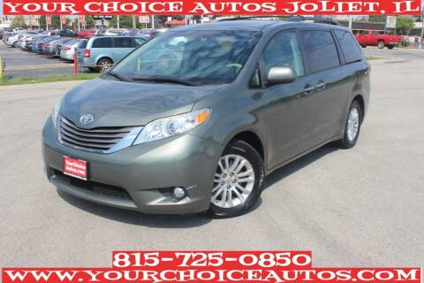 2011 Toyota Sienna for sale at Your Choice Autos - Joliet in Joliet IL