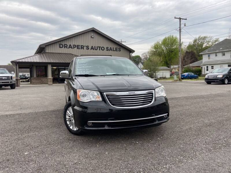 2013 Chrysler Town and Country for sale at Drapers Auto Sales in Peru IN