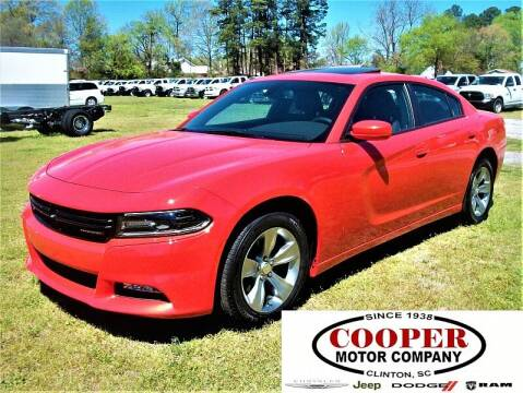 2017 Dodge Charger for sale at Cooper Motor Company in Clinton SC