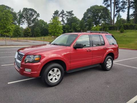 2010 Ford Explorer for sale at WIGGLES AUTO SALES INC in Mableton GA