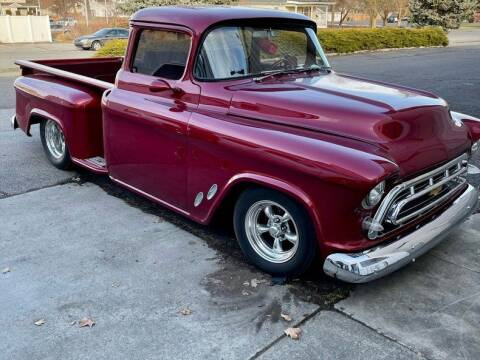 1957 Chevrolet Silverado 1500 for sale at Drager's International Classic Sales in Burlington WA