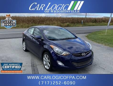 2012 Hyundai Elantra for sale at Car Logic in Wrightsville PA