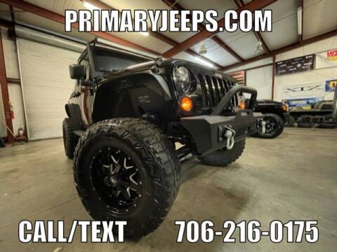 2009 Jeep Wrangler for sale at Primary Auto Group in Dawsonville GA