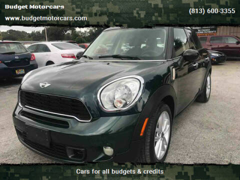 2011 MINI Cooper Countryman for sale at Budget Motorcars in Tampa FL