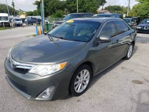 2014 Toyota Camry for sale at P S AUTO ENTERPRISES INC in Miramar FL