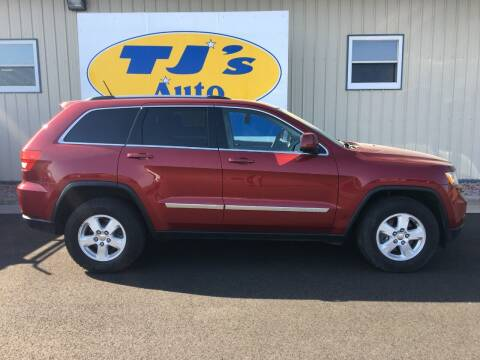 2012 Jeep Grand Cherokee for sale at TJ's Auto in Wisconsin Rapids WI