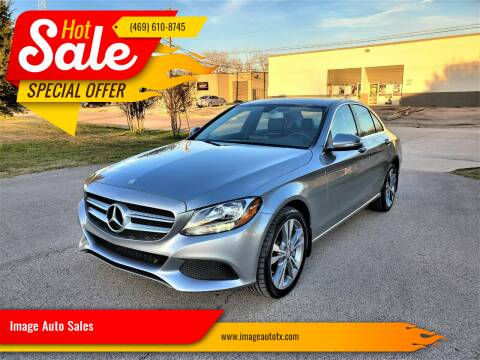 2015 Mercedes-Benz C-Class for sale at Image Auto Sales in Dallas TX