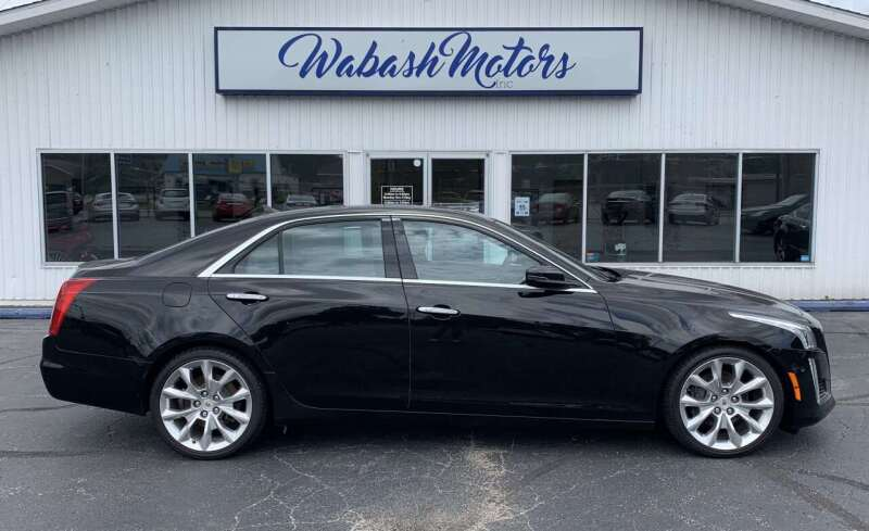 2014 Cadillac CTS for sale at Wabash Motors in Terre Haute IN