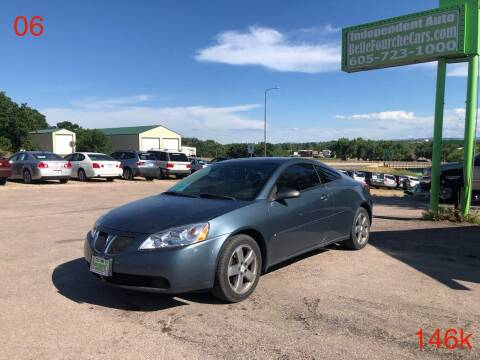 2006 Pontiac G6 for sale at Independent Auto in Belle Fourche SD