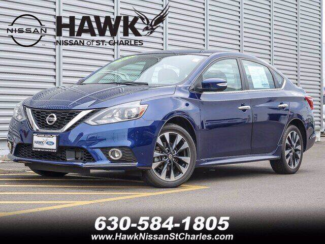 2019 Nissan Sentra for sale at Hawk Ford of St. Charles in Saint Charles IL
