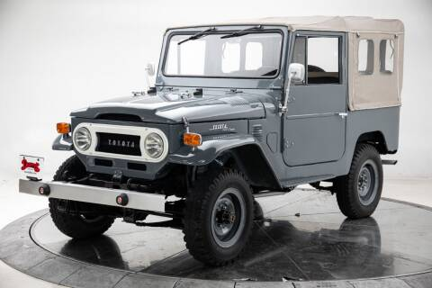 1972 Toyota FJ Cruiser for sale at Duffy's Classic Cars in Cedar Rapids IA