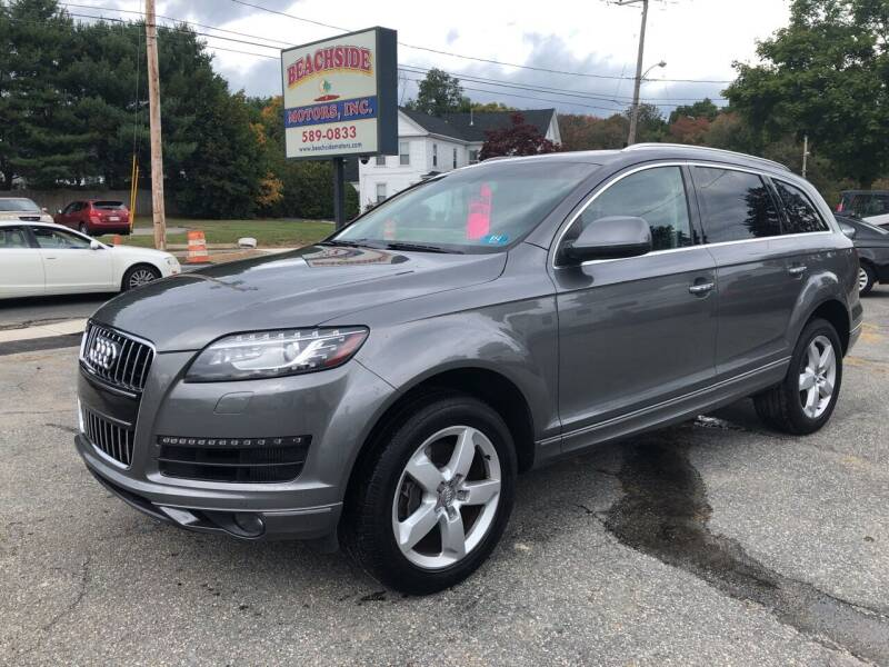 2013 Audi Q7 for sale at Beachside Motors, Inc. in Ludlow MA