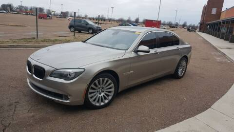 2012 BMW 7 Series for sale at The Auto Toy Store in Robinsonville MS
