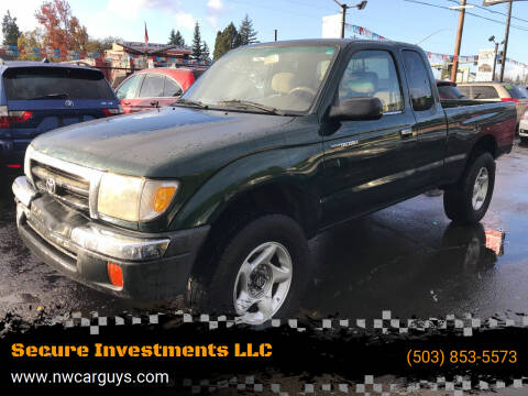 2000 Toyota Tacoma for sale at Stag Motors in Portland OR