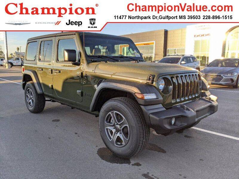 2021 Jeep Wrangler Unlimited for sale in Gulfport, MS