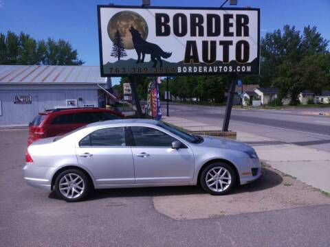 2011 Ford Fusion for sale at Border Auto of Princeton in Princeton MN