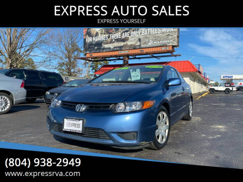 2008 Honda Civic for sale at EXPRESS AUTO SALES in Midlothian VA