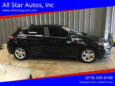 2017 Chevrolet Cruze for sale at All Star Autos, Inc in La Porte IN