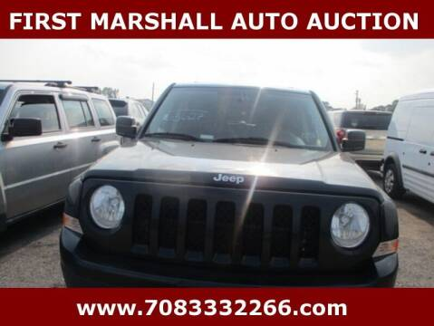 2011 Jeep Patriot for sale at First Marshall Auto Auction in Harvey IL