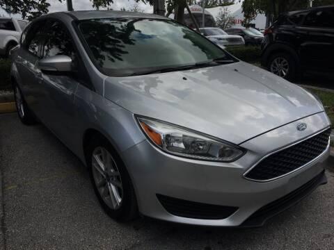 2017 Ford Focus for sale at DORAL HYUNDAI in Doral FL