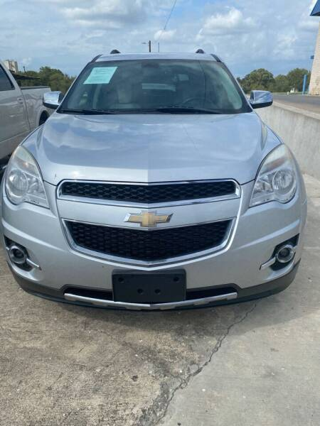 2010 Chevrolet Equinox for sale at Circle T Motors INC in Gonzales TX