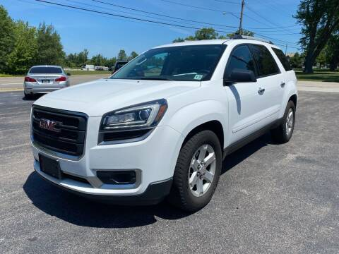2016 GMC Acadia for sale at Erie Shores Car Connection in Ashtabula OH