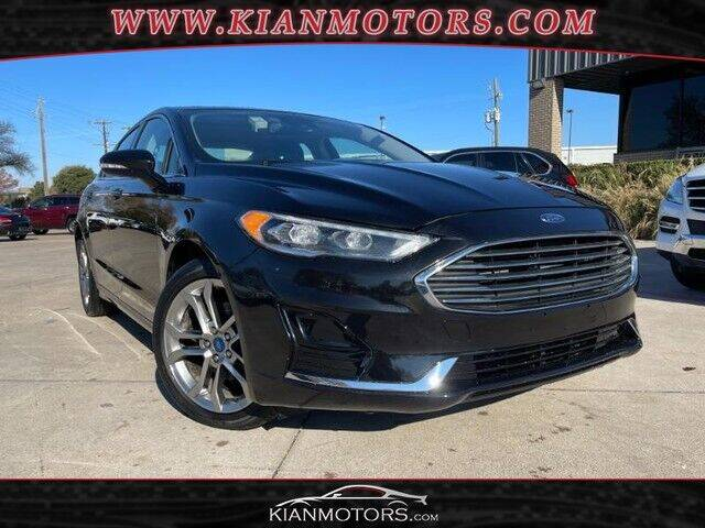 2019 Ford Fusion for sale at KIAN MOTORS INC in Plano TX