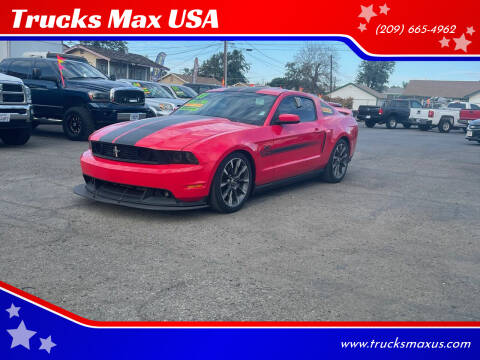 2011 Ford Mustang for sale at Trucks Max USA in Manteca CA